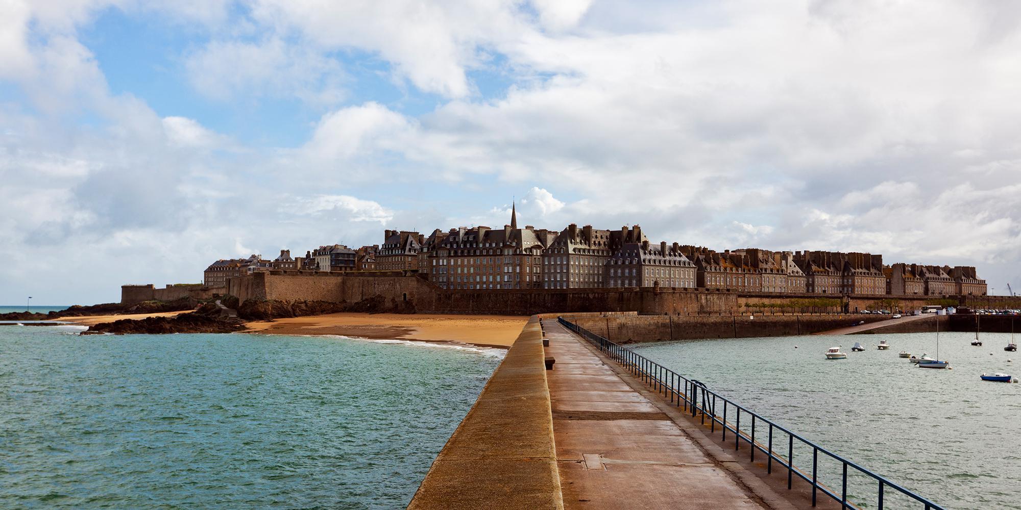 Saint Malo Hotel Ambassadeurs Hotel With Sea View Direct Access